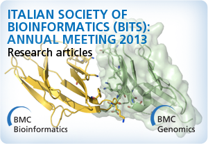 Italian Society of Bioinformatics (BITS) Annual Meeting 2013