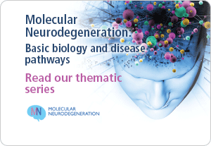 Molecular Neurodegeneration: Basic biology and disease pathways