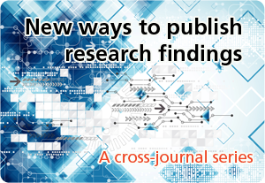 Cross journal series: new ways to publish research findings