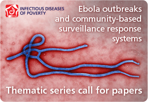 Ebola outbreaks and community based surveillance: call for papers