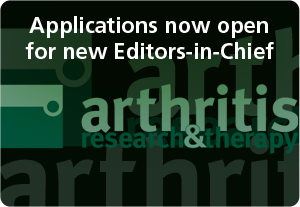 Applications for new Editor-in-Chief