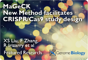 Model-based Analysis of Genome-wide CRISPR/Cas9 Knockout (MAGeCK)