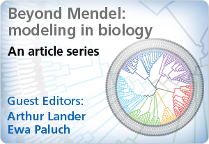 Beyond Mendel: modelling in biology -- a new series