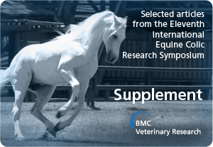 Selected articles from the Eleventh International Equine Colic Research Symposium